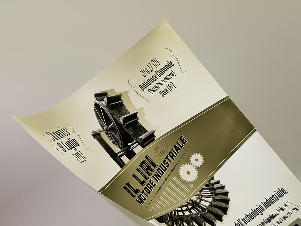 Il Liri, motore industriale artwork