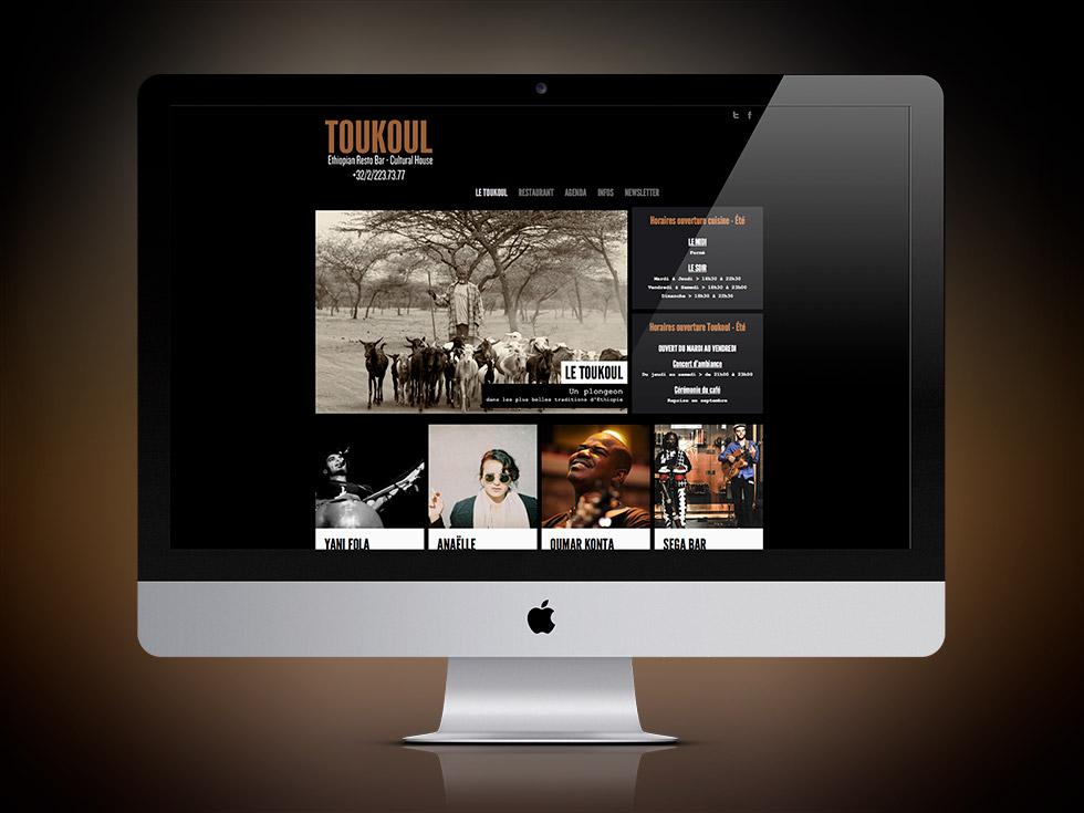 Toukoul website
