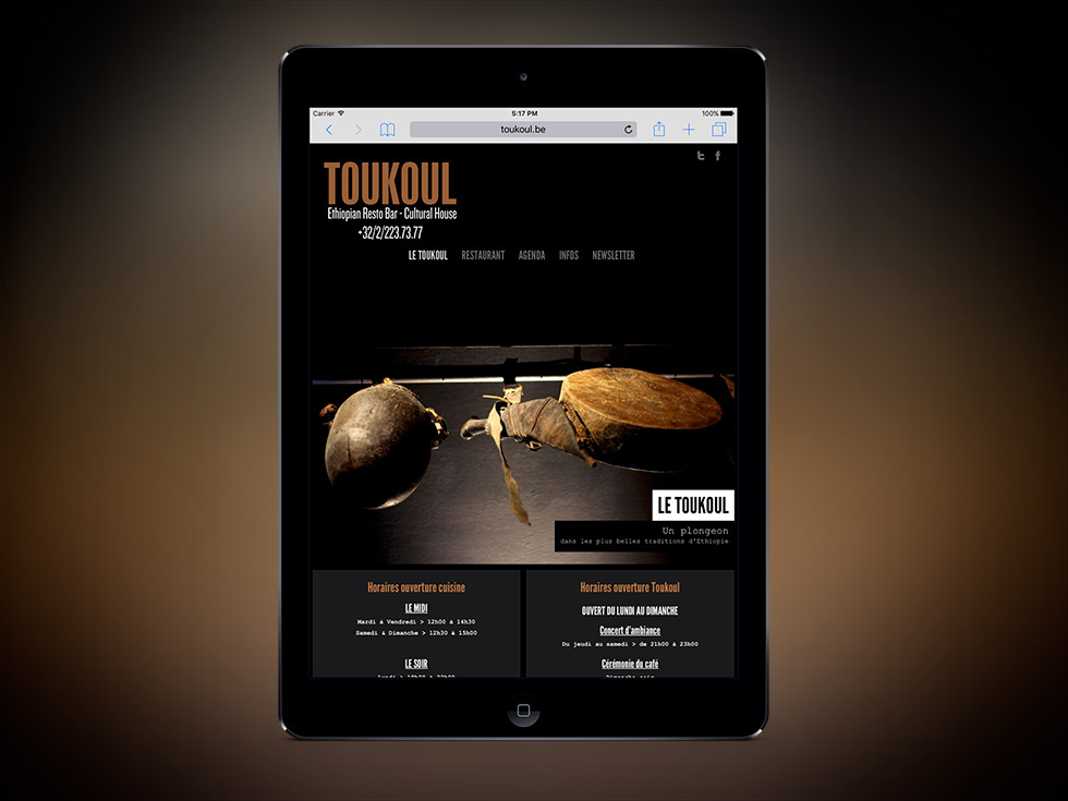Toukoul website